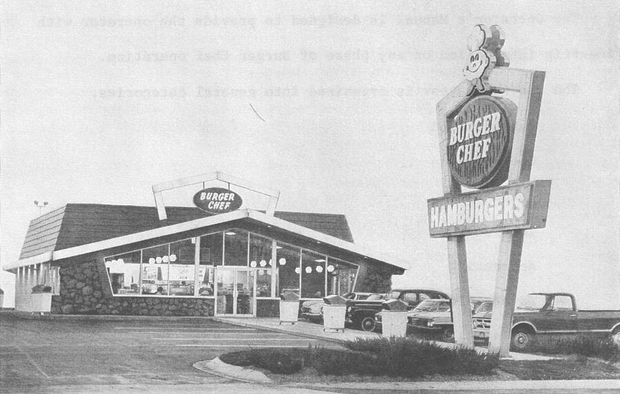 Burger Chef Building Design